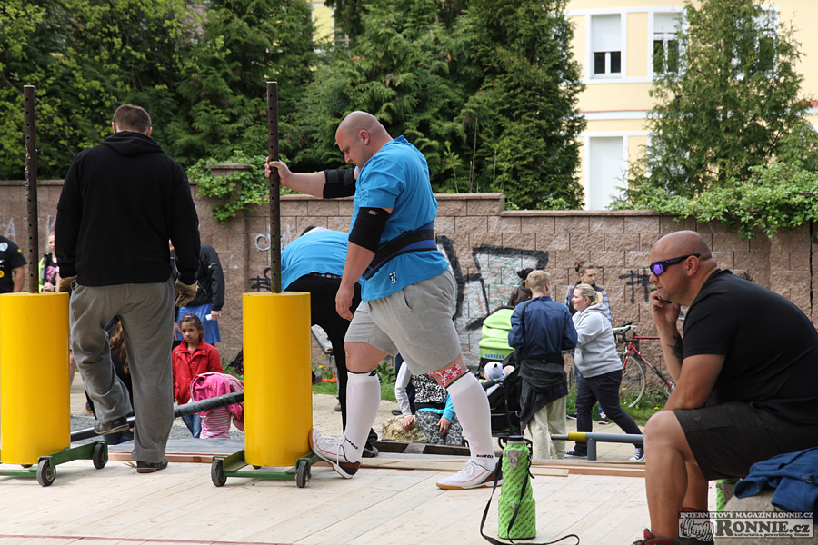 Strongmen´s Games Aš 2015 - Jan Šleis
